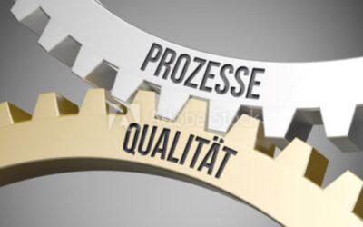 Investitionen in Prozesse und Qualität